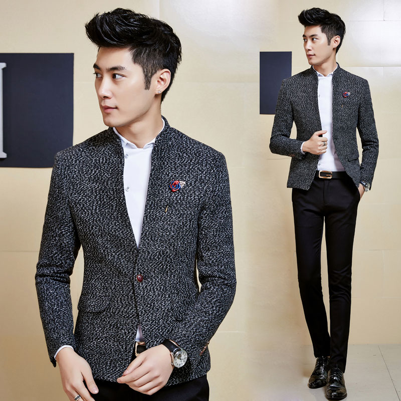 Men S 2015 Fall And Winter Clothes New Men S Casual Suit Slim Korean