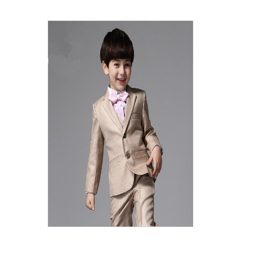 Wedding Party Dress Boy Dress Single Breasted Formal Solid ...